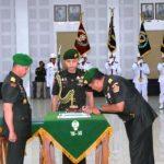 Serah terima jabatan Pangdam II Sriwijaya