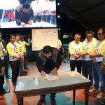 Launching Road to Ayo Ngelong ke Lubuklinggau 22.2.22 Berlangsung Meriah