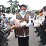 Pemprov Sumsel Distribusikan 2.000 Set APD ke Kabupaten/Kota