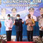 Herman Deru Launching Pembuatan SIM Perdana di Mapolres PALI